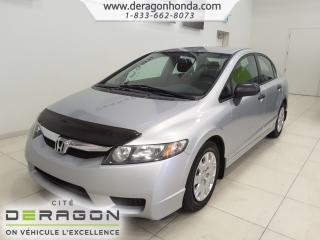 Used 2009 Honda Civic Dx-A+a/c+bas for sale in Cowansville, QC