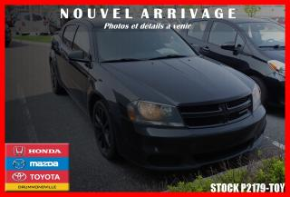 Used 2013 Dodge Avenger R/t Mags Cruise for sale in Drummondville, QC