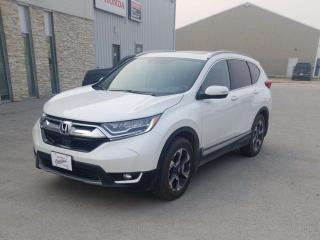 Used 2018 Honda CR-V Touring AWD LEATHER NAVIGATION for sale in Edmonton, AB
