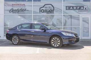Used 2015 Honda Accord HYBRIDE TOURING ***GARANTIE 10 ANS/200 0 for sale in Québec, QC