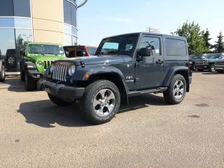 New 2018 Jeep Wrangler JK Sahara for sale in Edmonton, AB