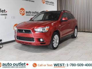 Used 2011 Mitsubishi RVR GT, AWD, POWER WINDOWS, STEERING WHEEL CONTROLS, CRUISE CONTROL, A/C, HEATED FRONT SEATS, AM/FM RADIO, SATELLITE RADIO for sale in Edmonton, AB