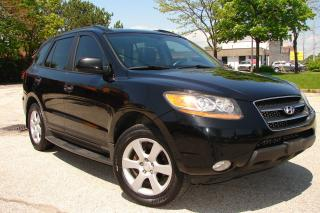 Used 2009 Hyundai Santa Fe LIMITED for sale in Mississauga, ON