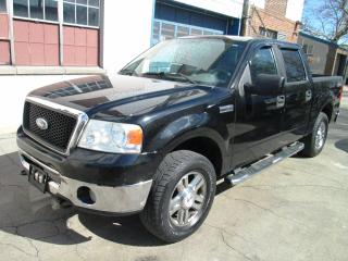 Used 2006 Ford F-150 Supercrew 4X4 4dr with DVD Player. for sale in Toronto, ON