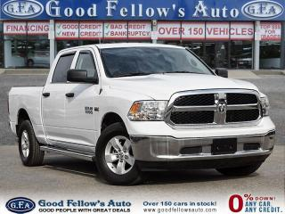 Used 2017 RAM 1500 ST MODEL, CREW CAB, HEMI, 4WD, REARVIEW CAMERA for sale in Toronto, ON