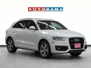 Used 2015 Audi Q3 4WD Leather Panoramic Sunroof for sale in Toronto, ON