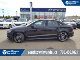 Used 2016 Audi S3 TECHNIK 2.0T/LEATHER/SUNROOF/BACK UP CAMERA for sale in Edmonton, AB
