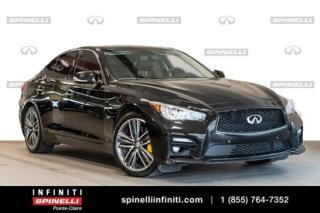 Used 2016 Infiniti Q50 3.0t Sport Tech for sale in Montréal, QC