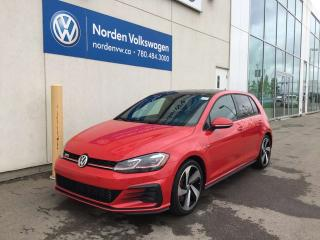 Used 2018 Volkswagen Golf GTI 5DR AUTOBAHN 6SPD M/T / DRIVERS ASSIST PKG / CERTIFIED for sale in Edmonton, AB