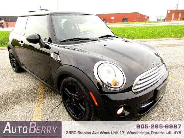 2012 MINI Cooper Baker Street Edition