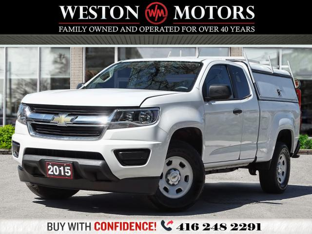 2015 Chevrolet Colorado 2WD*LEATHER*PWR GRP*REVERSE CAM!!*WOW ONLY 89KMS!*