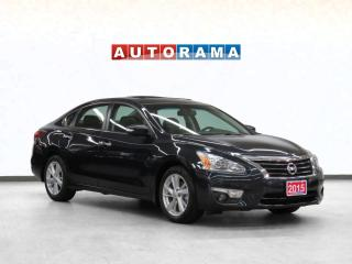 Used 2015 Nissan Altima SL TECH PKG NAVIGATION LEATHER SUNROOF BACKUP for sale in Toronto, ON