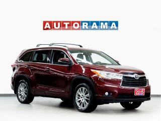 Used 2015 Toyota Highlander XLE AWD NAVIGATION LEATHER SUNROOF BACKUP CAM for sale in Toronto, ON