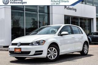 Used 2017 Volkswagen Golf TRENDLINE for sale in Pickering, ON