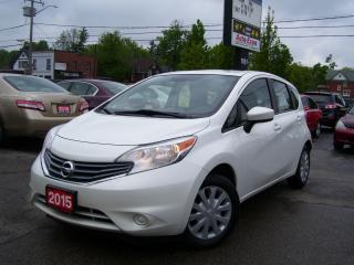 Used 2015 Nissan Versa Note SV,Bluetooth,Backup Camera,USB,AUX,Certified, for sale in Kitchener, ON