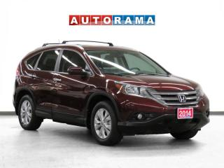 Used 2014 Honda CR-V Touring Pkg Navigation Leather Sunroof Backup Cam for sale in Toronto, ON
