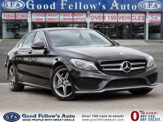 Used 2016 Mercedes-Benz C 300 4MATIC, PANORAMIC ROOF, LEATHER SEATS, NAVIGATION for sale in Toronto, ON