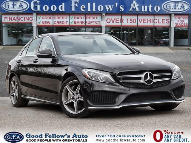 2016 Mercedes-Benz C 300 4MATIC, PANORAMIC ROOF, LEATHER SEATS, NAVIGATION