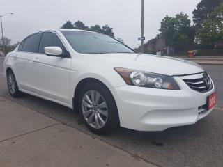 Used 2012 Honda Accord EXL-1 Owner-Clean Report-Leather-Sunroof-Bluetooth for sale in Scarborough, ON