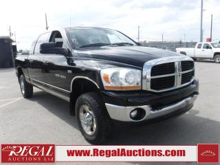 Used 2006 Dodge Ram 1500 MEGA CAB 4WD for sale in Calgary, AB