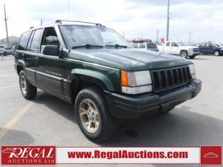 Used 1996 Jeep Grand Cherokee 4D Utility for sale in Calgary, AB