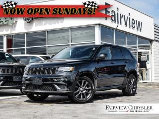 Used 2018 Jeep Grand Cherokee Overland   High Altitude   Pano Roof   Dual DVD for sale in Burlington, ON