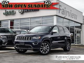 Used 2018 Jeep Grand Cherokee Limited   NAV   Heated/Cooled Seats for sale in Burlington, ON
