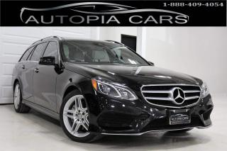Used 2014 Mercedes-Benz E-Class E350 4MATIC AMG PKG BLIND SPOT NAVIGATION BACKUP for sale in North York, ON