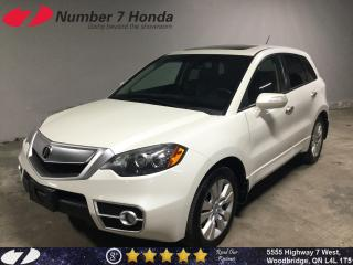 Used 2010 Acura RDX Tech Pack| Navi, Leather, Sunroof! for sale in Woodbridge, ON