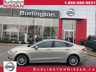 Used 2015 Ford Fusion SE, ACCIDENT FREE, NAVIGATION, 1 OWNER ! for sale in Burlington, ON