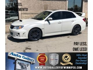 Used 2014 Subaru WRX STI *AWD/Lthr/6Spd/Roof/Bluetooth for sale in Winnipeg, MB