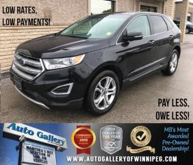 Used 2015 Ford Edge Titanium *AWD/Htd Lthr/Roof/Navi for sale in Winnipeg, MB