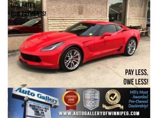 Used 2016 Chevrolet Corvette Z06 3LZ *Supercharged/Lthr/Navi for sale in Winnipeg, MB