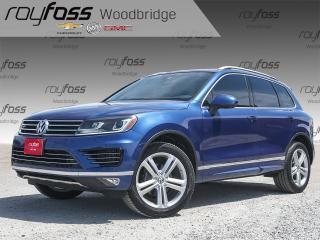 Used 2016 Volkswagen Touareg Highline, SUNROOF, NAV, LEATHER for sale in Woodbridge, ON