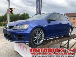 Used 2017 Volkswagen Golf R 2.0 TSI 5DR HB !!! for sale in Toronto, ON