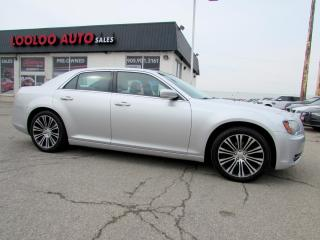 Used 2012 Chrysler 300 S 300S TYPE V6 PANORAMIC SUNROOF CERTIFIED 2YR WARRANTY for sale in Milton, ON