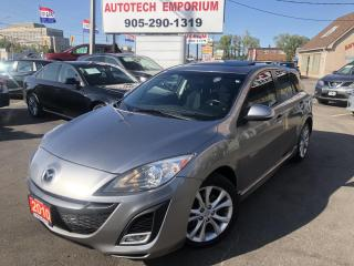 Used 2010 Mazda MAZDA3 GT Sport, Sunroof, Heated Seats, Alloys. Trade Special for sale in Mississauga, ON