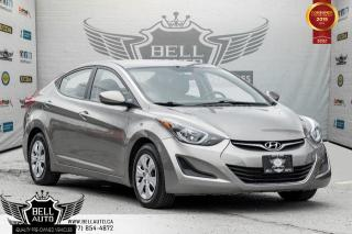 Used 2016 Hyundai Elantra USB, A/C, TRACTION CNTRL, PWR MIRROR, AM/FM RADIO for sale in Toronto, ON