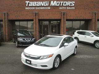 Used 2012 Honda Civic EX-L | LEATHER | SUNROOF | REAR CAM | HEATED SEATS | B\T for sale in Mississauga, ON