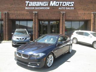 Used 2014 BMW 5 Series 535d xDrive AWD | NAVIGATION | REAR CAM | LEATHER | SUNROOF for sale in Mississauga, ON