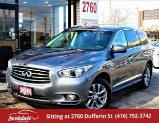 Used 2015 Infiniti QX60 7 Pass Navi 360Camera Leather Roof for sale in North York, ON