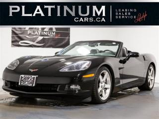 Used 2005 Chevrolet Corvette CONVERTlBLE, 1SB PKG, NAVI, Heads UP DISP, Bose for sale in Toronto, ON