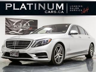 Used 2014 Mercedes-Benz S550 4MATIC NAVI, ENTERTAINMENT, Driver Assist for sale in Toronto, ON