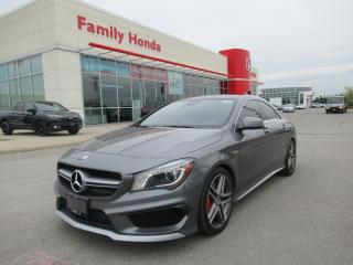 Used 2014 Mercedes-Benz CLA-Class 45 AMG 4MATIC, RED CALIPERS! for sale in Brampton, ON