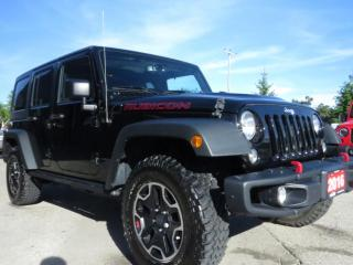 Used 2016 Jeep Wrangler Unlimited Rubicon for sale in Scarborough, ON