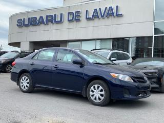 Used 2013 Toyota Corolla CE ** Sièges chauffants ** for sale in Laval, QC