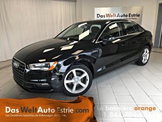 Used 2015 Audi A3 2.0 TDI Komfort for sale in Sherbrooke, QC