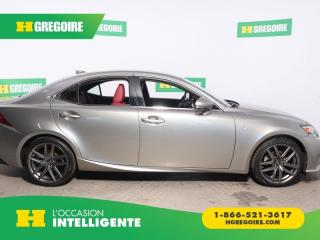 Used 2015 Lexus IS 250 AWD CUIR MAGS for sale in St-Léonard, QC