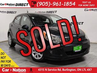 Used 2013 Kia Rio LX+| LOCAL TRADE| BLUETOOTH| for sale in Burlington, ON