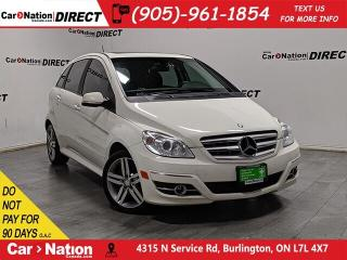 Used 2011 Mercedes-Benz B-Class B200 Turbo| AS-TRADED| SUNROOF| for sale in Burlington, ON
